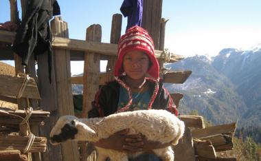 Boy in Nepal