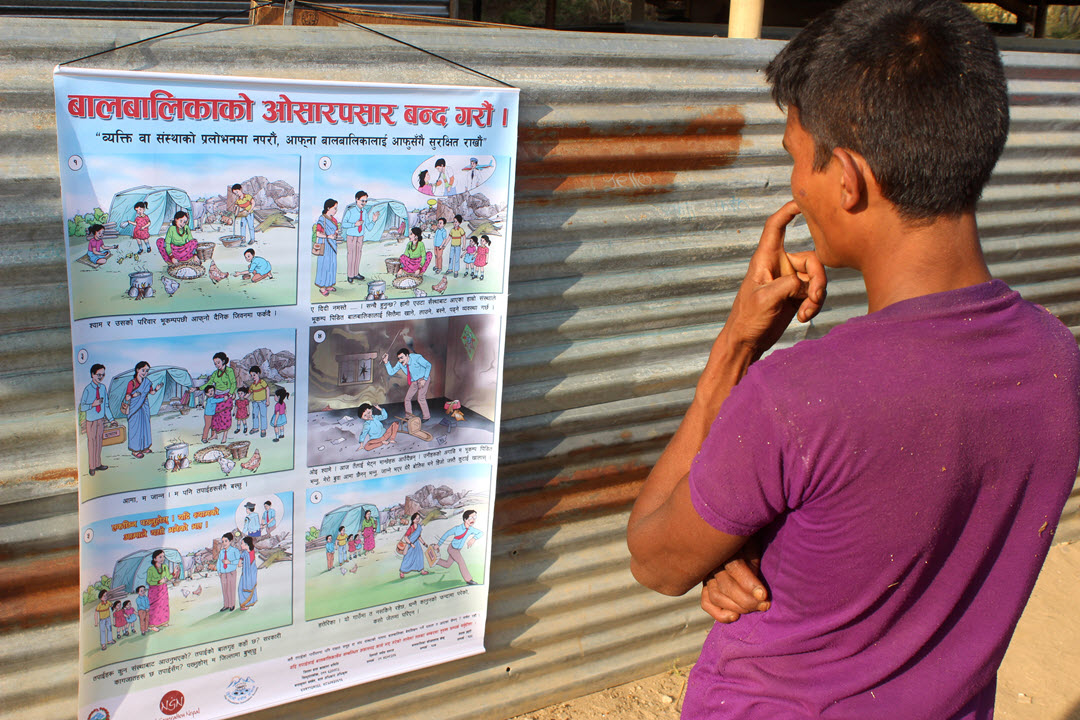 Preventing child trafficking in Nepal