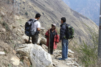 Searching for trafficked children's families in Nepal