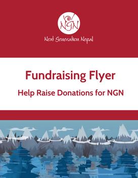 fundraising flyer next generation nepal