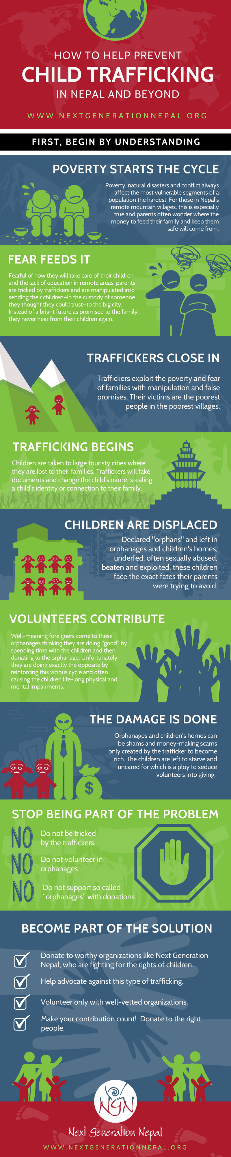 How to Help Prevent Child Trafficking: An Infographic by Next Generation Nepal